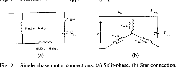 A novel DC chopper drive for a single-phase induction motor