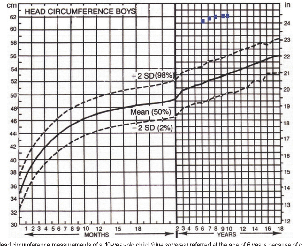 PDF] The value of head circumference measurements after 20 months ...