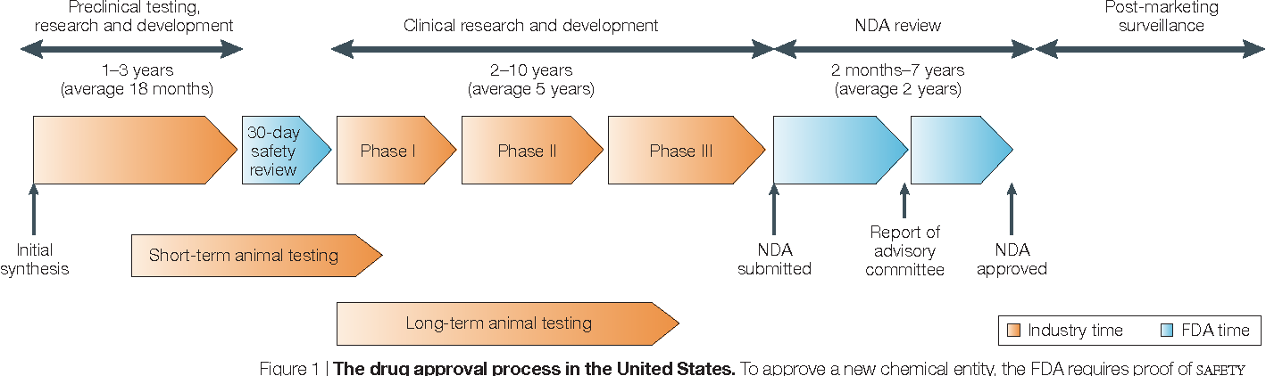 Figure 1 from Key factors in the rising cost of new drug