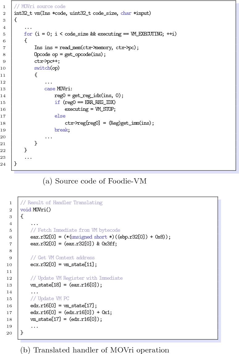 Nightingale: Translating Embedded VM Code in x86 Binary