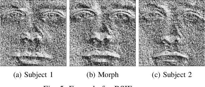 Performance variation of morphed face image detection
