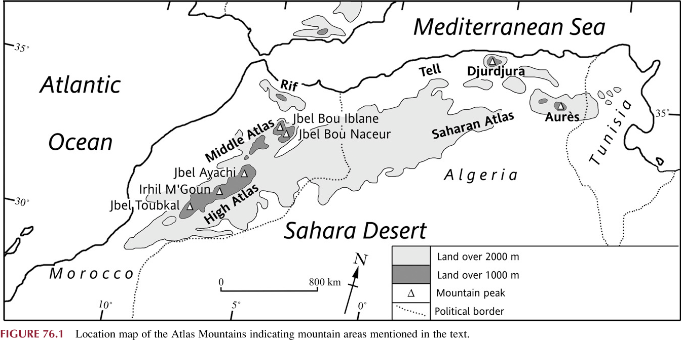 Quaternary Glaciations Of The Atlas Mountains North Africa