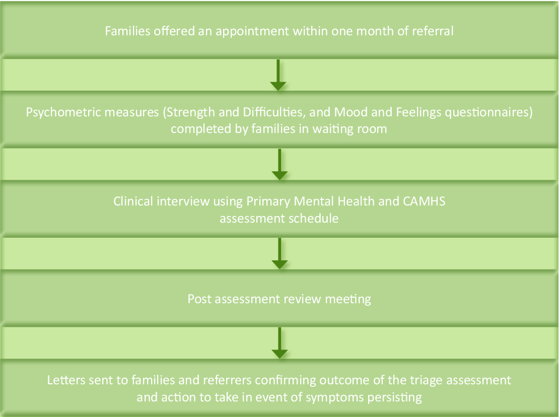 Pdf Improving The Timeliness Of Mental Health Assessment For Children And Adolescents In A Multidisciplinary Team Semantic Scholar