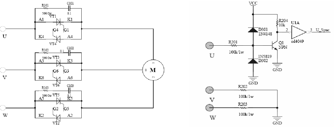 Figure 3 from A Three-phase AC-Voltage Regulator System ... on