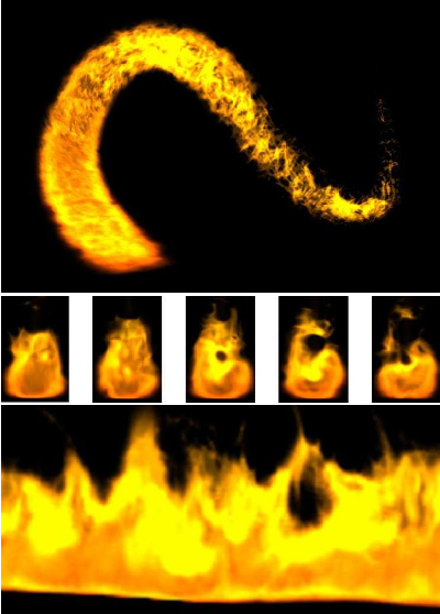 Figure 3 from Real-time procedural volumetric fire