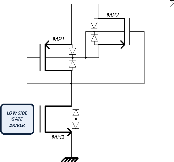 Figure 3 from Universal output stage with reverse polarity