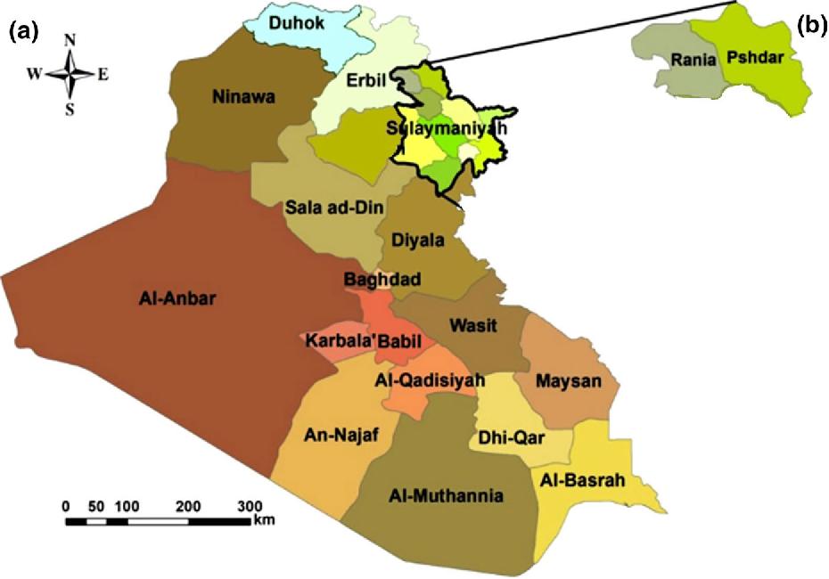 Kurdistan Karte 2019.Figure 3 From Traditional Uses Of Kurdish Medicinal Plant