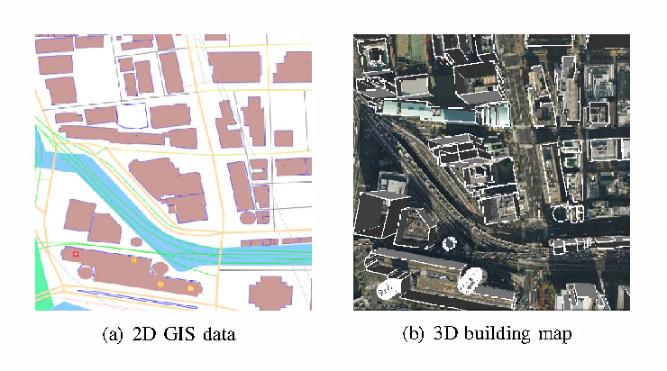 GPS multipath detection and rectification using 3D maps
