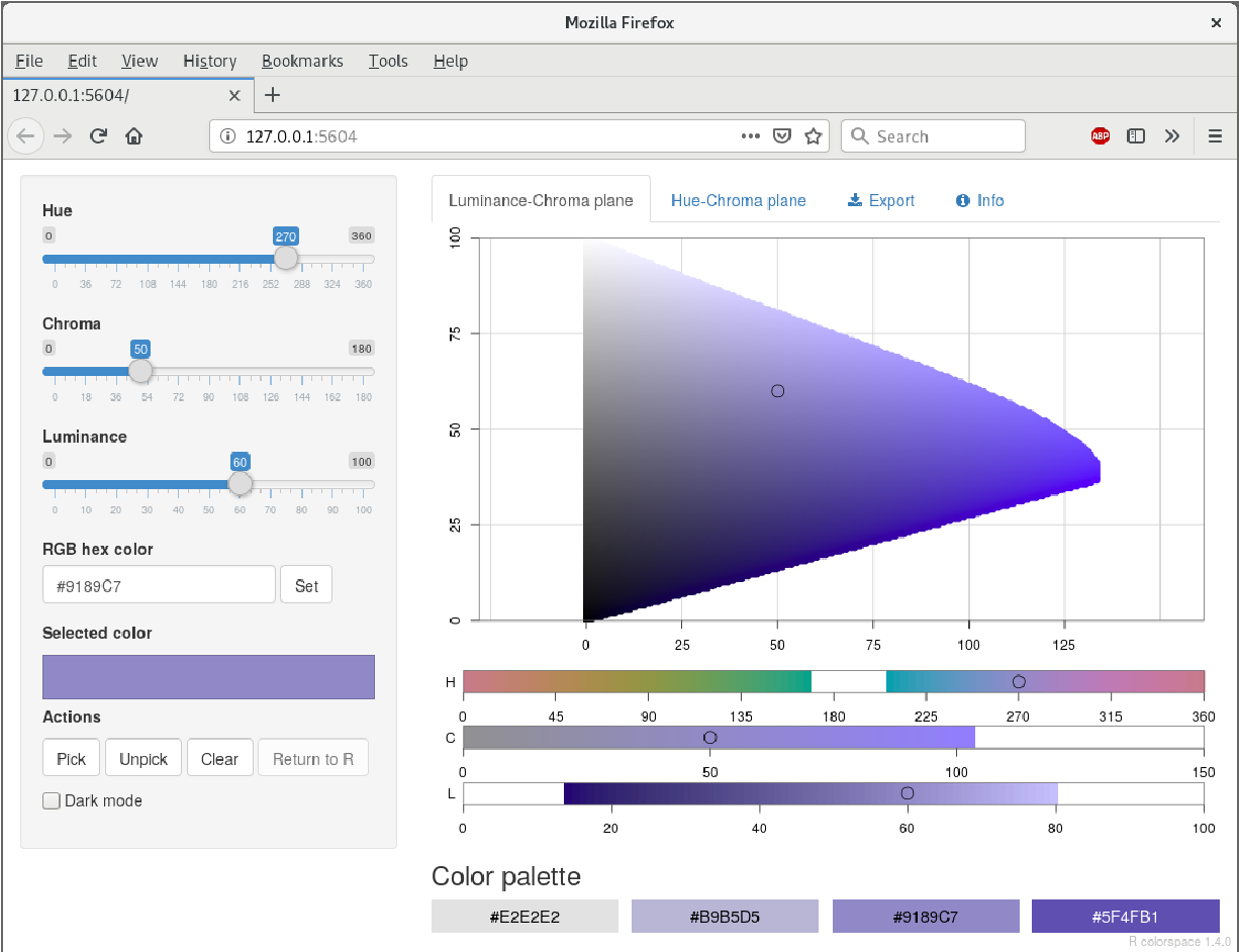 PDF] colorspace: A Toolbox for Manipulating and Assessing