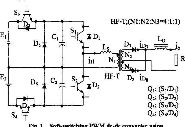 Advanced High Power DC-DC Converter using Novel Type Half