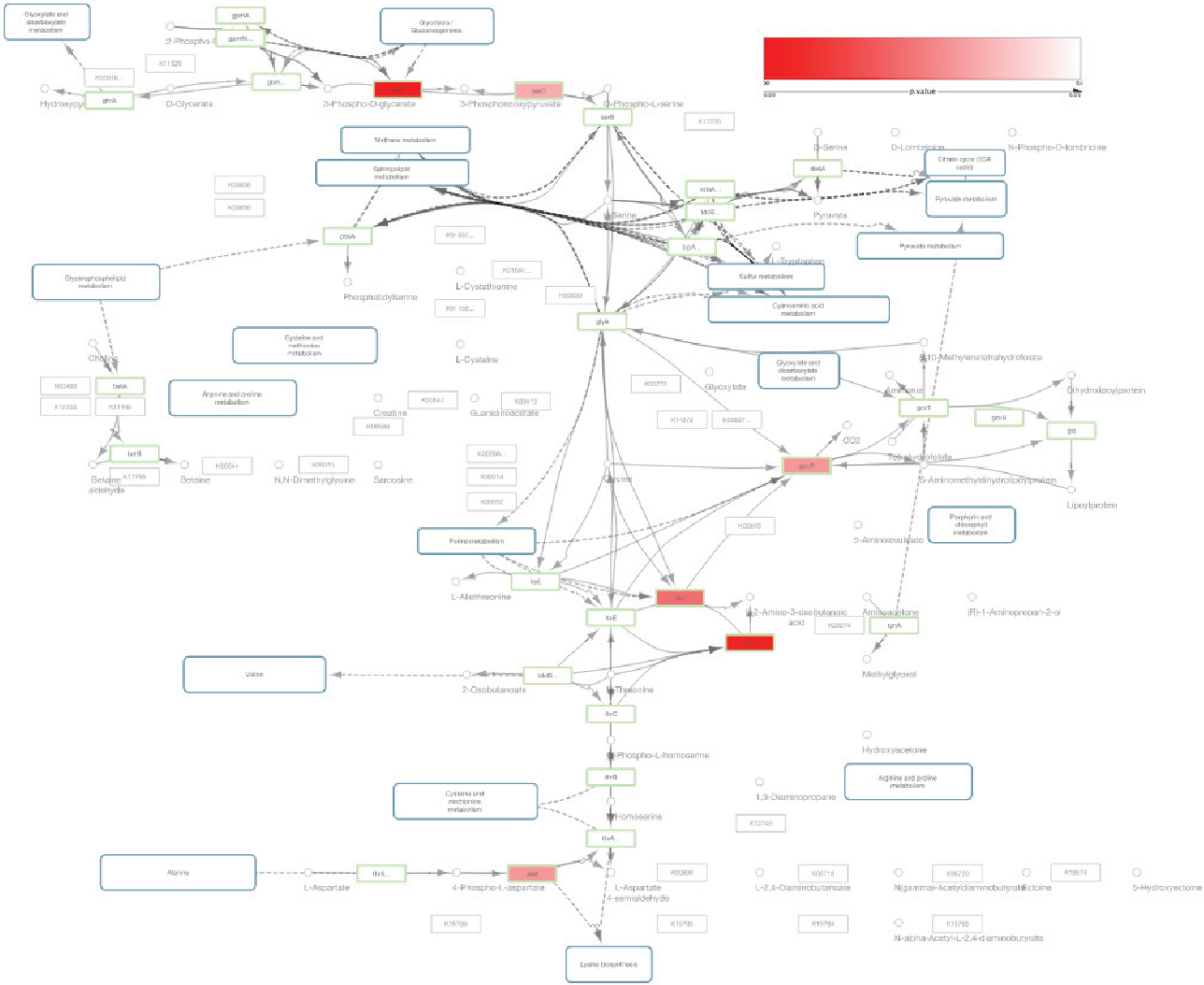 Figure 4 from KEGGscape: a Cytoscape app for pathway data