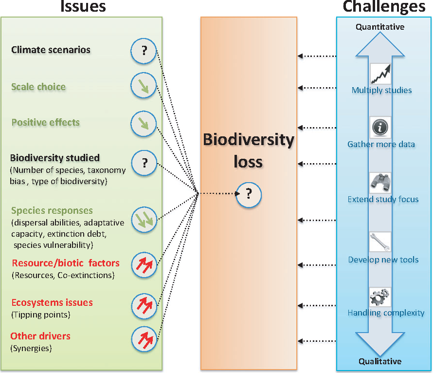 impact of climate change on ecosystem