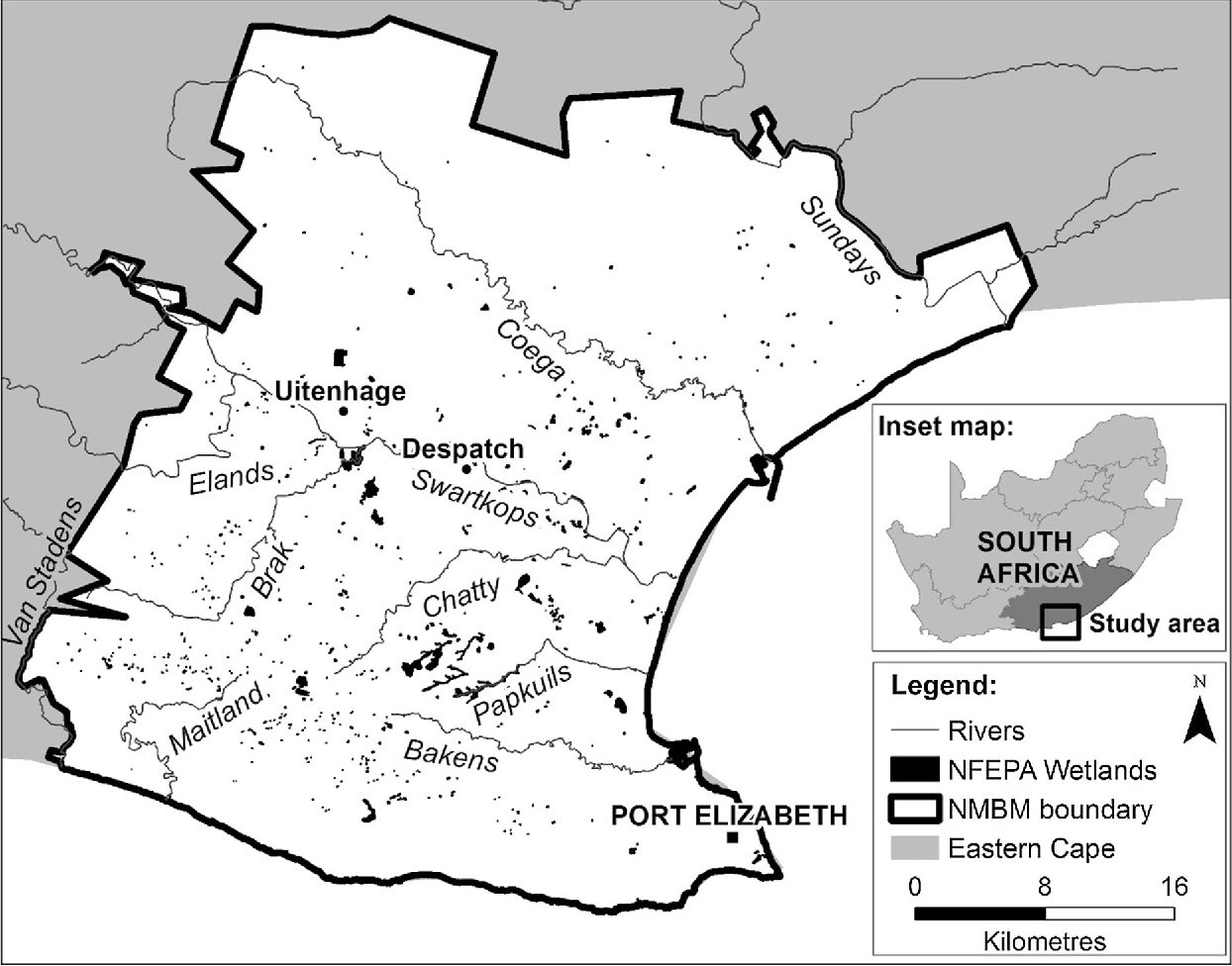 Figure 1 From Mapping Ephemeral Wetlands Manual Digitisation And Logistic Regression Modelling In Nelson Mandela Bay Municipality South Africa Semantic Scholar Madiba map launched so tourists can explore the late leader's south africa. figure 1 from mapping ephemeral