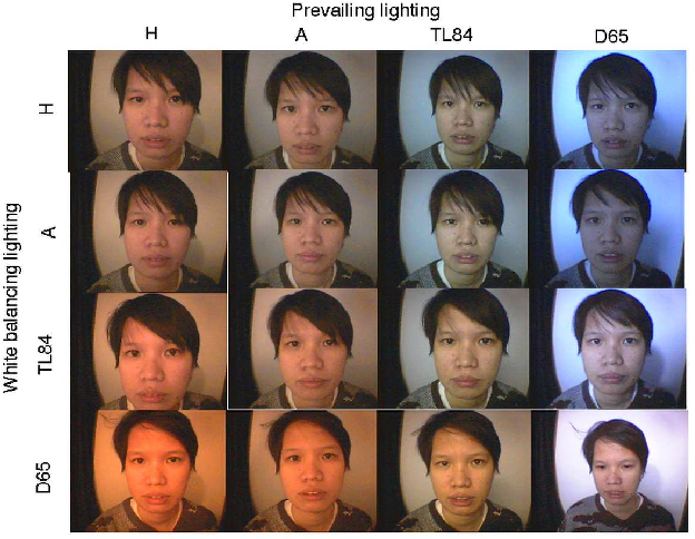 Figure 1 from Comparison of skin color detection and