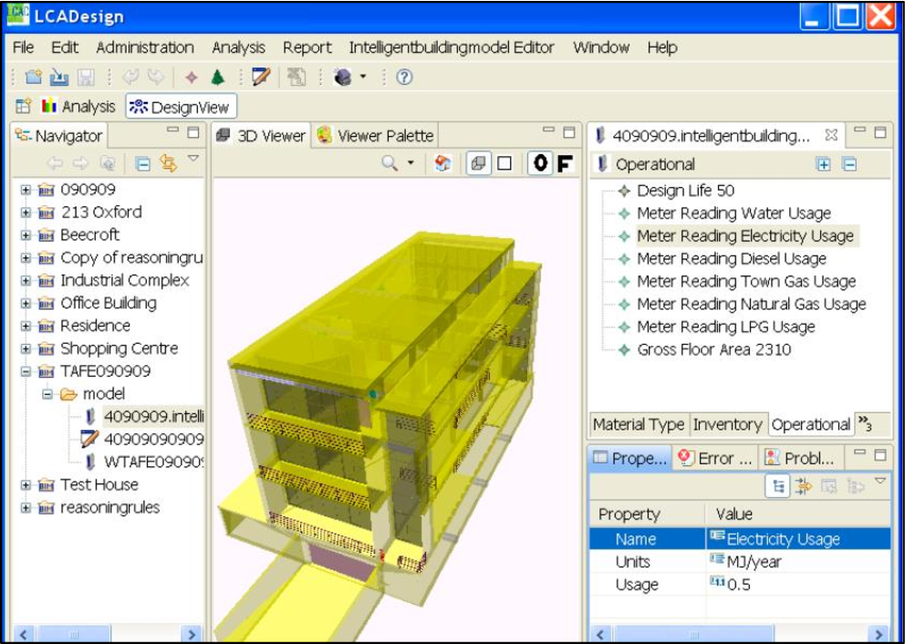 PDF] Integration of LCA and BIM considering early building