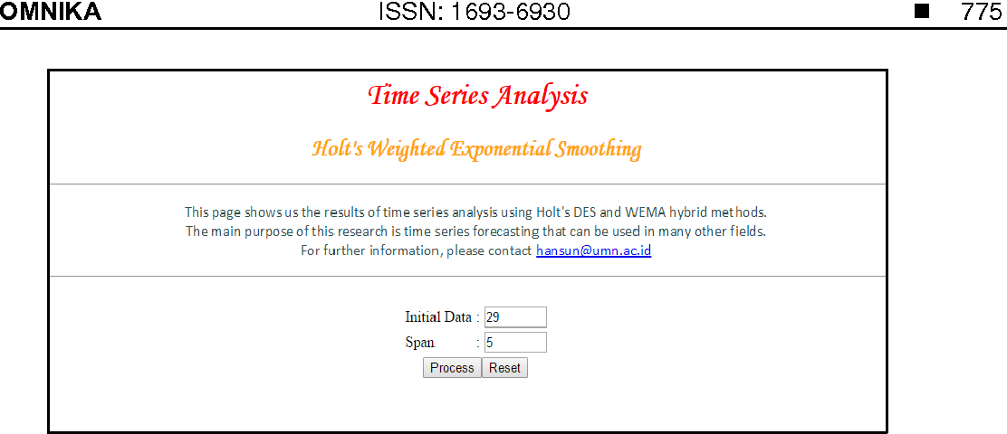 PDF] H-WEMA: A New Approach of Double Exponential Smoothing