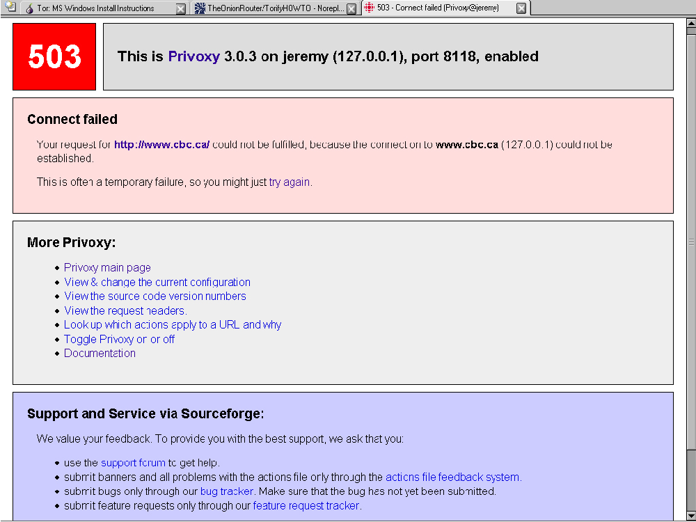 Usability of anonymous web browsing: an examination of Tor