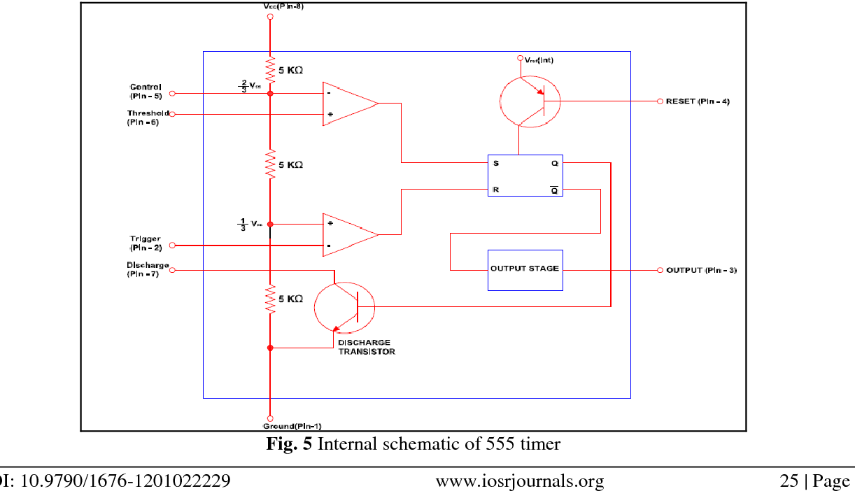 The 555 Astable Circuit
