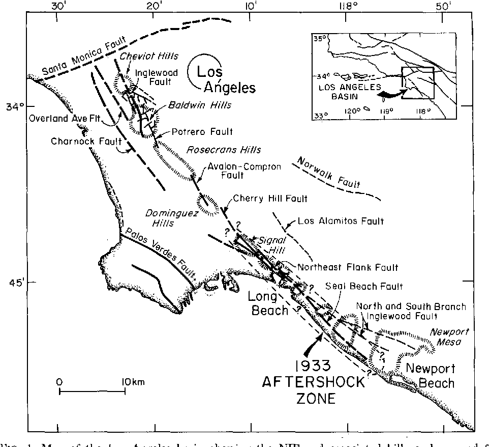 PDF] Seismotectonics of the Newport-Inglewood fault zone in