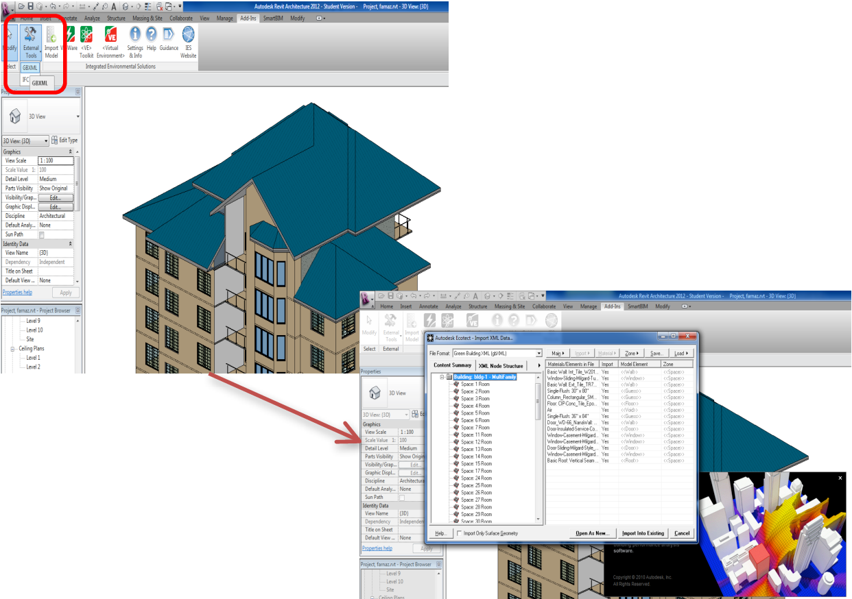 Figure 4 From Integrating Building Information Modeling Bim And Energy Analysis Tools With Green Building Certification System To Conceptually Design Sustainable Buildings Semantic Scholar