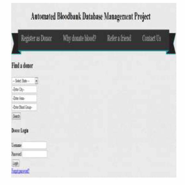 Automated Online Blood Bank Database Semantic Scholar