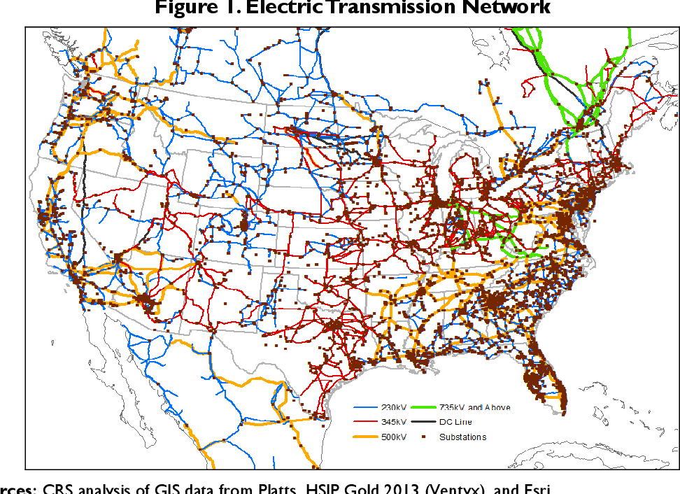 PDF] Physical Security of the U S  Power Grid: High-Voltage