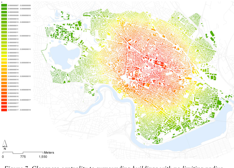 Figure 7 from Urban network analysis  A new toolbox for