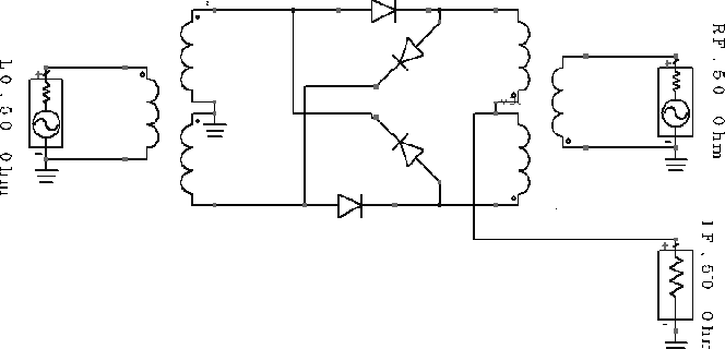 Figure 2 from Double Balanced Diode Ring Mixer for Ultra