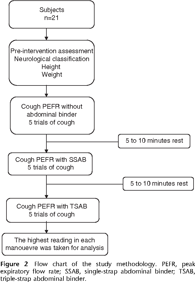 Figure 2 From Benefit Of Triple Strap Abdominal Binder On Voluntary Cough In Patients With Spinal Cord Injury Semantic Scholar