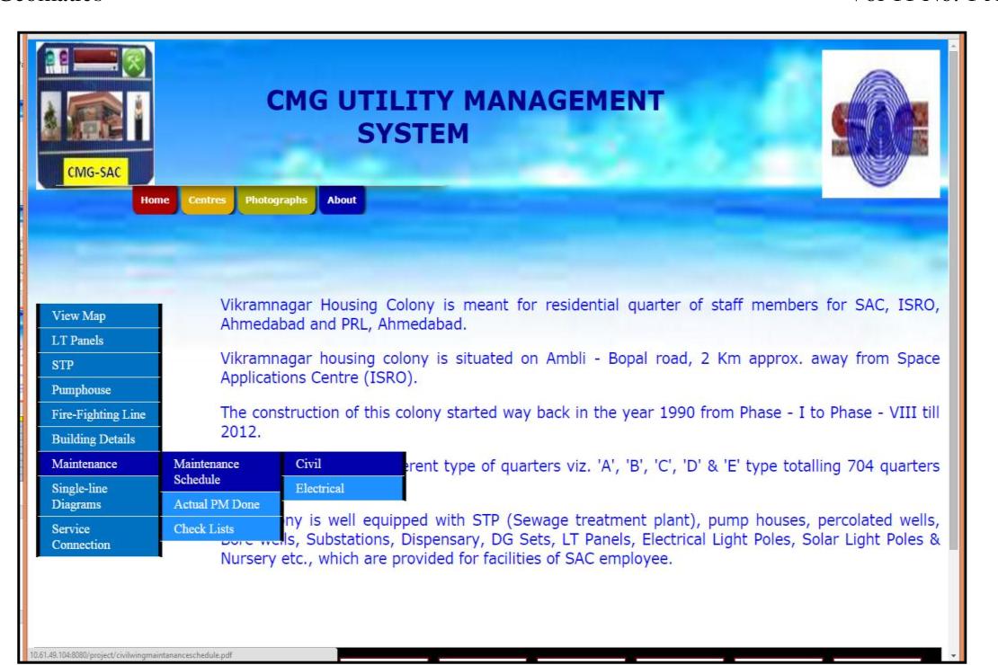 PDF] Web-GIS based application for utility management system