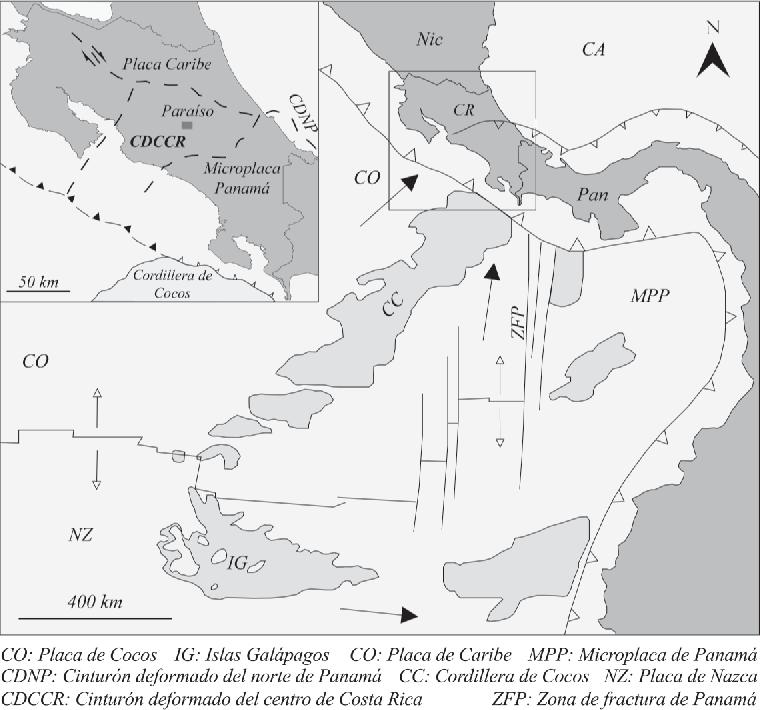Figure 1 From Geología De La Hoja Paraíso 1 10 000 Costa