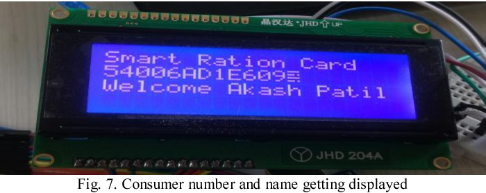 Figure 7 from A Step Towards Smart Ration Card System Using