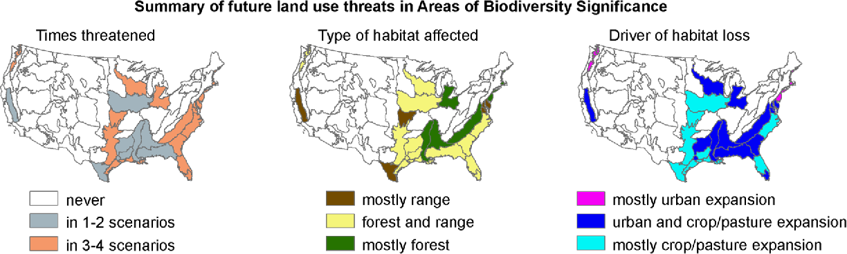 Figure 4 from Key areas for conserving United States ... on vegetation map united states, communication map united states, agriculture map united states, ecosystem map united states, education map united states, biodiversity map united states, topography map united states, shrubland map united states, weather map united states, land use map united states, migration map united states, soil map united states, color map united states, time map united states, water map united states,
