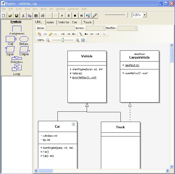 Figure 1 from Raptor: a visual programming environment for