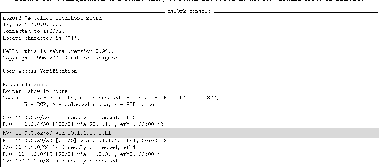 PDF] Emulation of Computer Networks with Netkit - Semantic