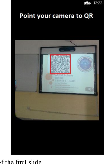 PDF] A Students Attendance System Using QR Code - Semantic