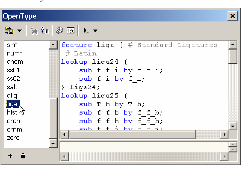 Figure 1 from Improved Unicode support in FontLab Studio