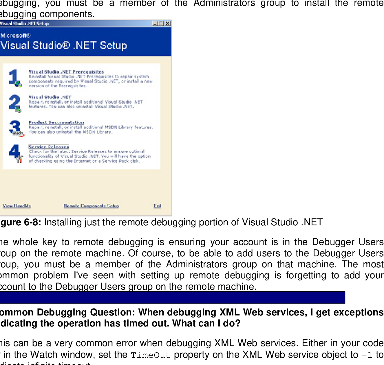 Figure 19-1 from Debugging Applications for Microsoft  NET