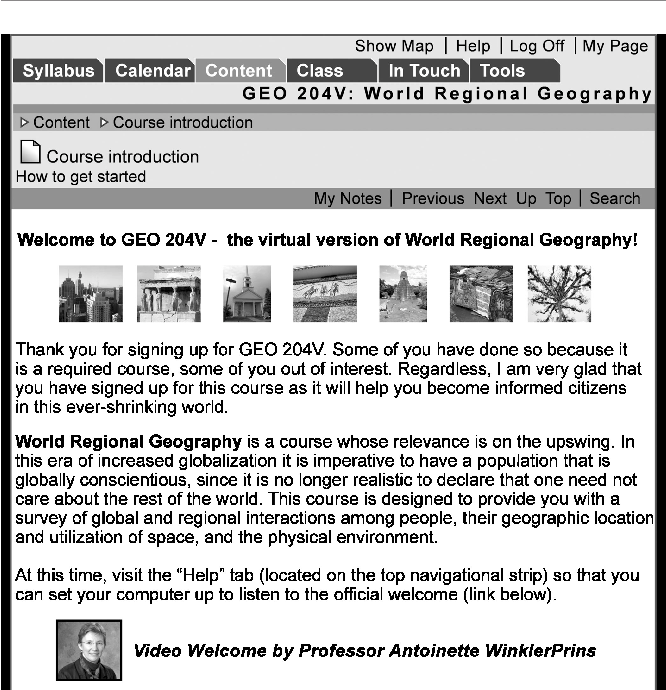 PDF] Developing Online Geography Courses: Experiences from