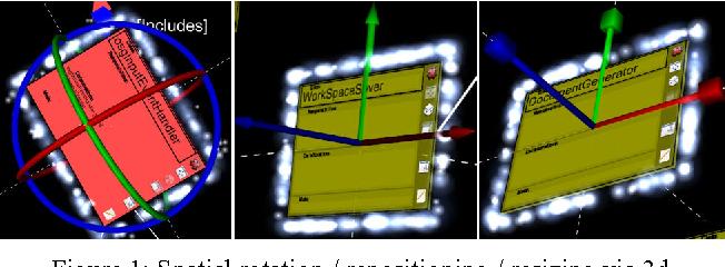 Rapid visual design with semantics encoding through 3d CRC