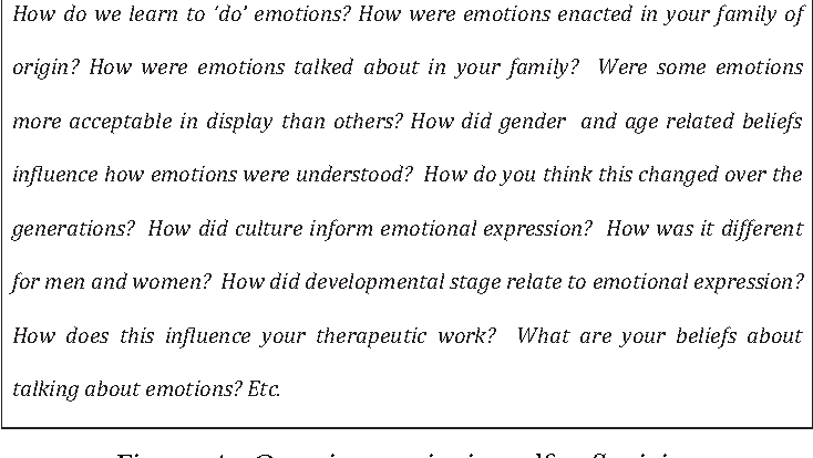 Emotion talk in the context of young people self‐harming