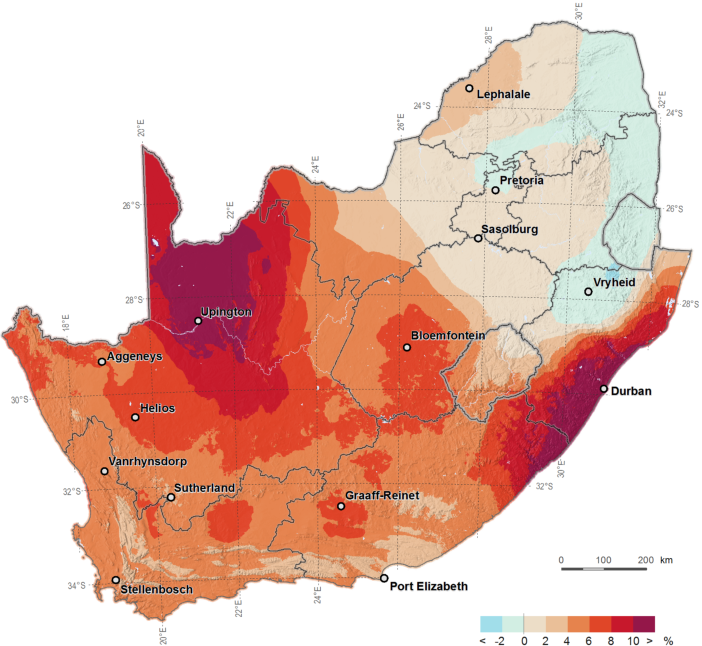 Resource Map Africa.Pdf Accuracy Enhanced Solar Resource Maps Of South Africa
