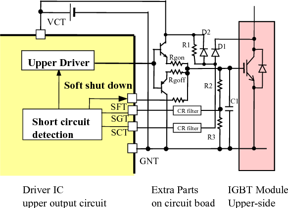 Figure 4 from A 600V driver IC with new short protection in