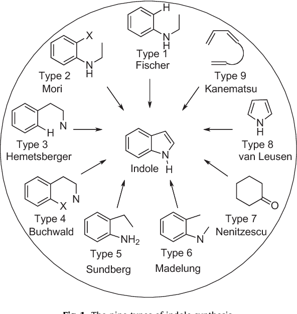 Indole synthesis: a review and proposed classification