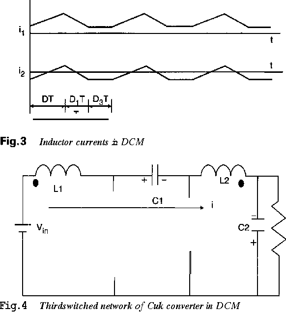 Figure 3 from Power factor improvement using DCM Cuk
