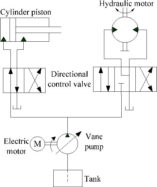 Machine Hydraulic Schematic Diagram on
