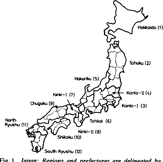 Figure 1 from Japan . of gastric cancer and stroke in Salt ... on coloring map of japan, climate zone map of japan, natural gas map of japan,