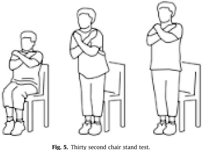 Figure 5 from Normal gait speed, grip strength and thirty