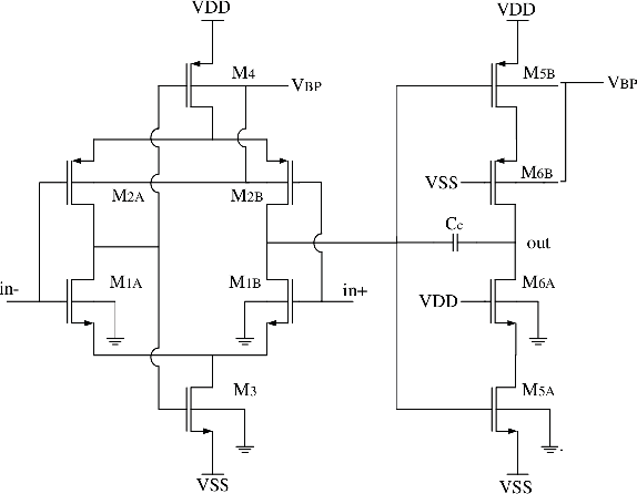 A Low Voltage Inverter Based Differential Amplifier for Low