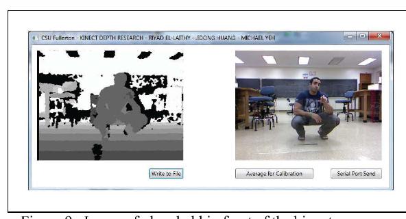 Study on the use of Microsoft Kinect for robotics